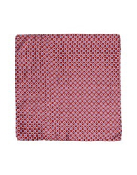 Manuel Ritz Square Scarves Red