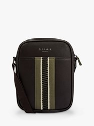 Ted Baker Jets Mini Flight Bag Chocolate