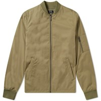 A.P.C. Greg Ma 1 Bomber Jacket Green