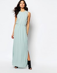 Y.A.S London Maxi Dress Gray Mist