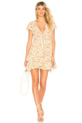 Auguste Matilda Grace Mini Dress Ivory