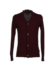 Fifty Four Knitwear Cardigans Men Deep Purple