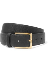 Andersons Anderson's Textured Leather Belt Black