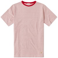 Armor Lux 74534 Jacquard Tee Red