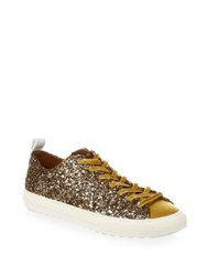 Coach Glitter Low Top Sneakers Marigold