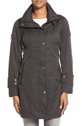 Women's Rainforest Packable Shape Memory Raincoat Black