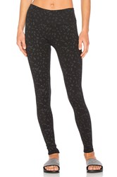Ragdoll Leopard Leggings Black