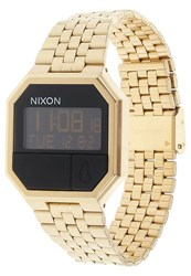 Nixon Rerun Digital Watch Goldfarben