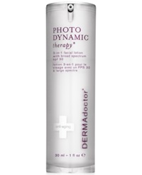 Dermadoctor Photodynamic Therapy 3 In 1 Facial Lotion With Broad Spectrum Spf 30