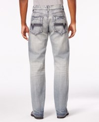 Inc International Concepts Men's Daly Relaxed Fit Jeans Only At Macy's Light Wash