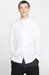 Chapter 'Balt' Sport Shirt White Rayon