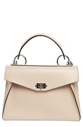 Proenza Schouler 'Medium Hava' Top Handle Calfskin Leather Satchel Yellow Sand