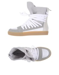 Kris Van Assche Krisvanassche Footwear High Tops And Trainers Men Grey