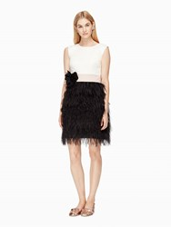 Kate Spade Scarlette Dress French Cream Black