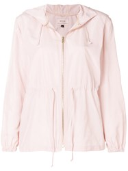 Bodyism X Emilia Wickstead Hooded Jacket Pink And Purple
