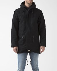 Ezekiel Black Fishtail Hawkeye Parka