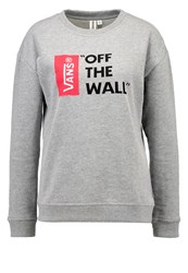 Vans Anthem Sweatshirt Grey Heather Mottled Grey
