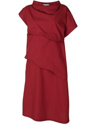 Societe Anonyme 3D Dress Red