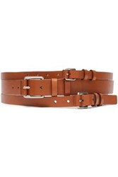 Michael Kors Collection Woman Leather Belt Light Brown