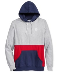Neff Men's Colorblocked Hoodie Athletic Heather
