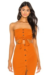 Privacy Please Pippa Top Orange