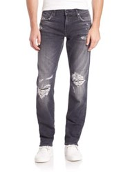 J Brand Tyler Distressed Slim Fit Jeans Outbacked