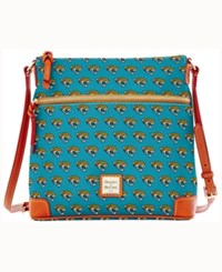 Dooney And Bourke Jacksonville Jaguars Crossbody Purse Turquoise