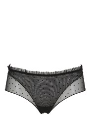 La Perla Polka Dots Tulle Layered Briefs