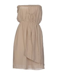 Tela Short Dresses Sand