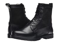 Birkenstock Gilford High Shearling Lined Black Leather Nubuck Women's Lace Up Boots
