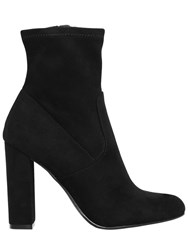 Steve Madden 100Mm Edith Microfiber Ankle Boots