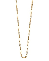 Monica Rich Kosann 18K Yellow Gold Belcher Chain Necklace 17'L
