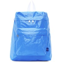 Comme Des Garcons Shirt Blue Poly Small Backpack