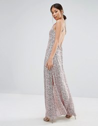 Goldie Elegance Maxi Dress In Willow Print Multi