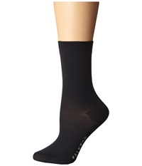 Falke Cotton Touch Ankle Socks Dark Navy Women's Low Cut Socks Shoes