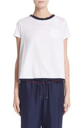 Moncler Women's Asymmetrical Back Tee