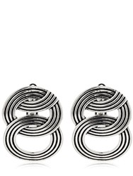 Philippe Audibert Abril Clip On Earrings Silver