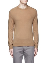 Acne Studios 'Kite' Cashmere Knit Sweater Brown