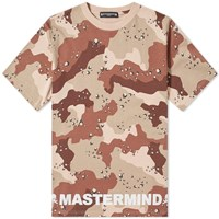 Mastermind World Opal Skull Cut And Sew Tee Brown