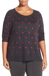 Plus Size Women's Sejour Wool And Cashmere Scoop Neck Sweater