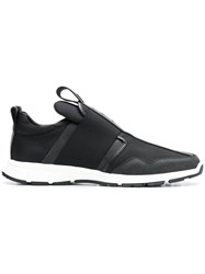 Dsquared2 Slip On Runner Sneakers Black