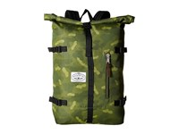 Poler Retro Rolltop Bag Green Camo Bags