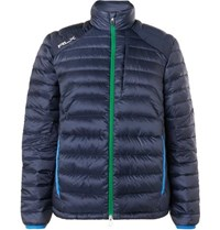 Rlx Ralph Lauren Pivot Packable Quilted Shell Down Golf Jacket Navy