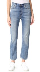 Vince Vintage Straight Jeans Calico