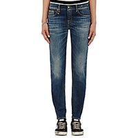R 13 R13 Women's Relaxed Skinny Jeans Blue