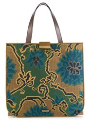 Etro Panelled Shopper Tote