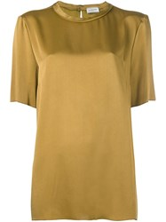 Lanvin Relaxed Blouse Brown