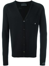 Philipp Plein 'Lose Control' Cardigan Black