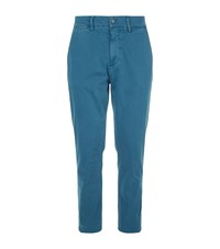 7 For All Mankind Slimmy Luxe Performance Chinos Blue