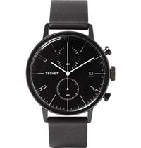 Tsovet Jpt Cc38 Stainless Steel And Leather Watch Gray